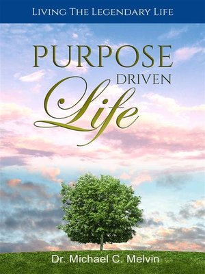 cover image of Purpose Driven Life