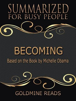 cover image of Becoming--Summarized for Busy People