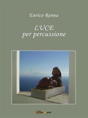 cover image of LUCE per percussione