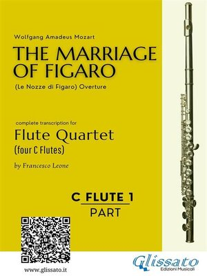 cover image of The Marriage of Figaro--Flute Quartet (Set of Parts)