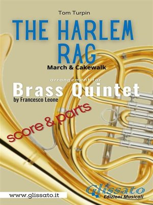 cover image of The Harlem Rag--Brass Quintet score & parts