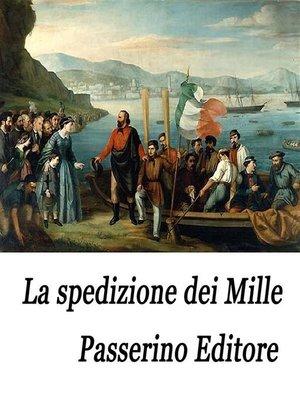 cover image of La spedizione dei Mille