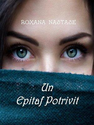 cover image of Un Epitaf Potrivit (MacKay--Detectiv Canadian, #1)