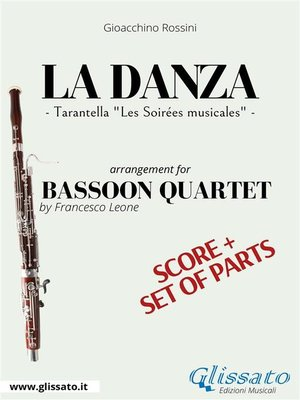 cover image of La Danza--Bassoon Quartet score & parts