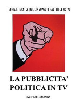 cover image of La pubblicità politica in tv