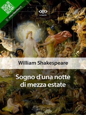cover image of Sogno d'una notte di mezza estate