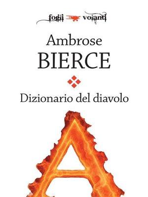 cover image of Dizionario del Diavolo