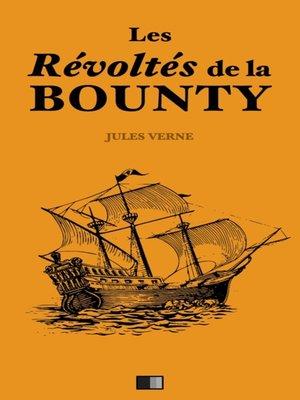 cover image of Les révoltés de la Bounty
