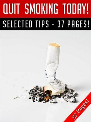 cover image of Quit Smoking Today!
