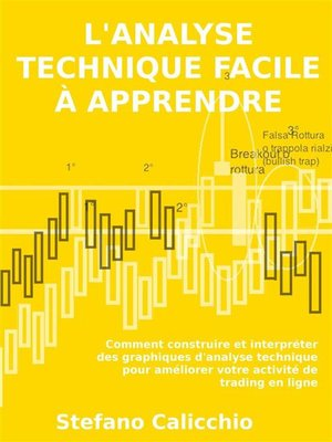 cover image of L'analyse technique facile à apprendre