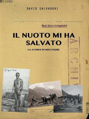 cover image of Il nuoto mi ha salvato