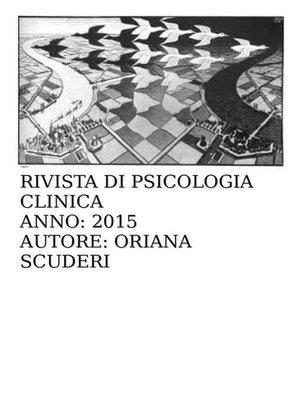 cover image of Rivista di psicologia clinica