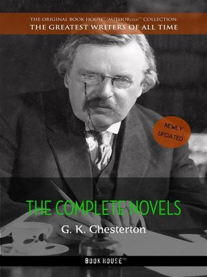 cover image of G. K. Chesterton--The Complete Novels