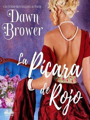 cover image of La Pícara De Rojo