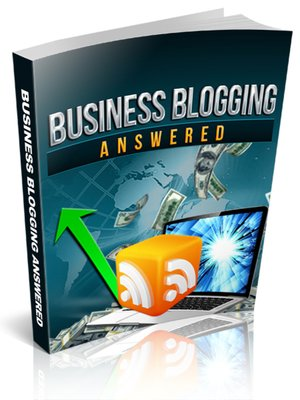 cover image of Business Blogging Answered