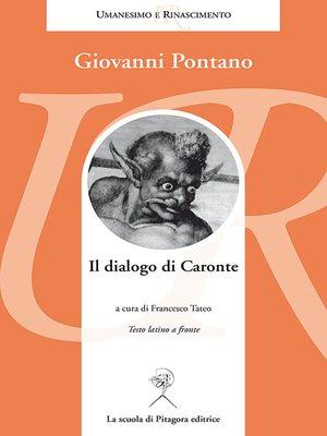 cover image of Il dialogo di Caronte