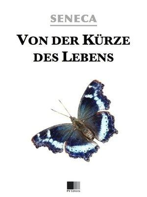 cover image of Von der Kürze des Lebens