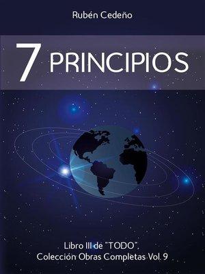 cover image of Siete Principios