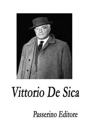 cover image of Vittorio De Sica