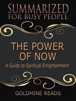 cover image of The Power of Now--Summarized for Busy People