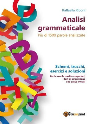 cover image of Analisi grammaticale