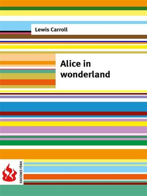 cover image of Alice in wonderland (low cost)