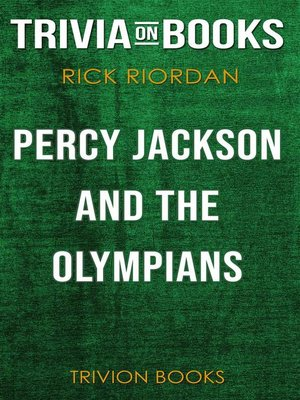 cover image of Percy Jackson and the Olympians by Rick Riordan (Trivia-On-Books)