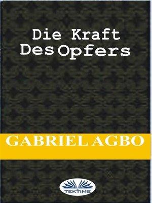 cover image of Die Kraft Des Opfers