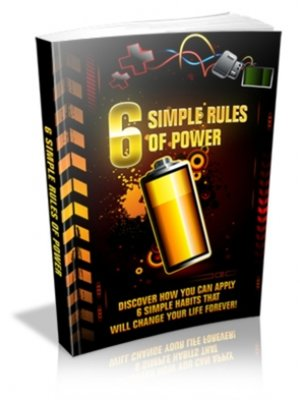 cover image of 6 Simple Rules of Power