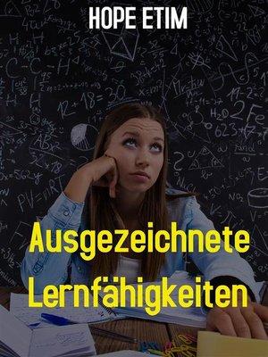 cover image of Ausgezeichnete Lernfähigkeiten