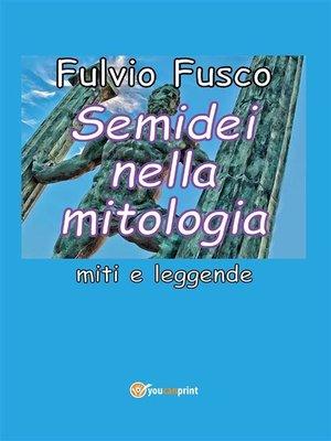 cover image of Semidei nella mitologia