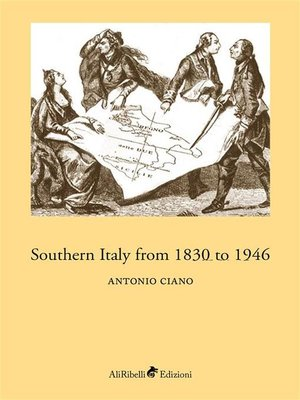 cover image of Southern Italy from 1830 to 1946