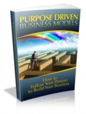 cover image of Purpose Driven Business Models