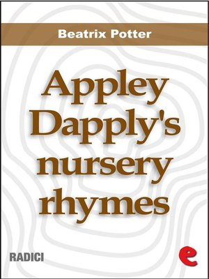 cover image of Appley Dapply's nursery rhymes