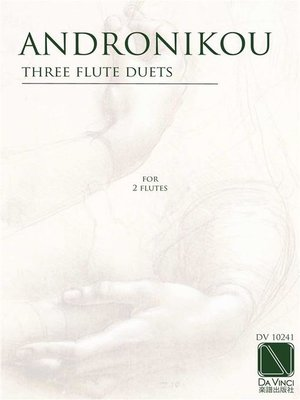 cover image of Three Flute Duets, for two flutes