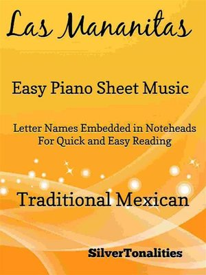cover image of Las Mananitas Easy Piano Sheet Music