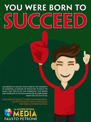 cover image of You were born to succeed