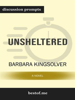 "cover image of Summary--""Unsheltered--A Novel"" by Barbara Kingsolver 