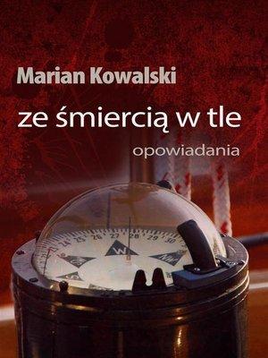 cover image of Ze śmiercią w tle
