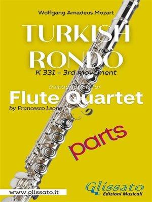 cover image of Turkish Rondò--Flute Quartet (parts)