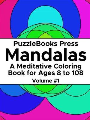 cover image of PuzzleBooks Press Mandalas – Volume 1