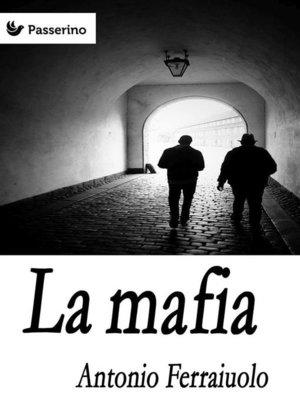 cover image of La mafia