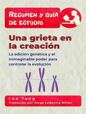 cover image of Resumen Y Guía De Estudio--Una Grieta En La Creación