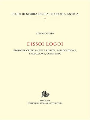 cover image of Dissoi Logoi