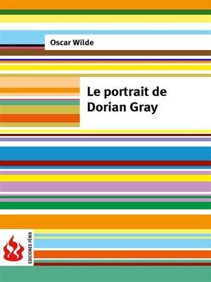 cover image of Le portrait de Dorian Gray (low cost). Édition limitée