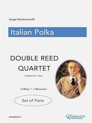 cover image of Italian Polka--Double Reed Quartet--Parts