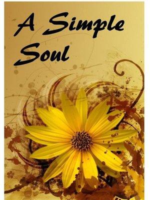 cover image of 一个简单的灵魂