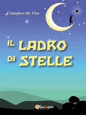 cover image of Il ladro di stelle