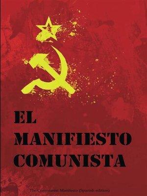 cover image of El Manifiesto Comunista
