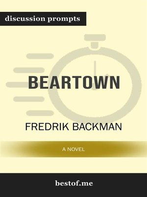 "cover image of Summary--""Beartown--A Novel"" by Fredrik Backman 